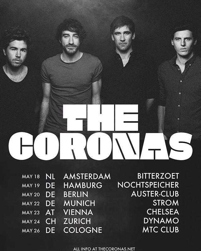 The Coronas 2016 Tour